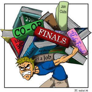 Graduate Insanity: Work/School/Life Balance « The Graduate Baruchian