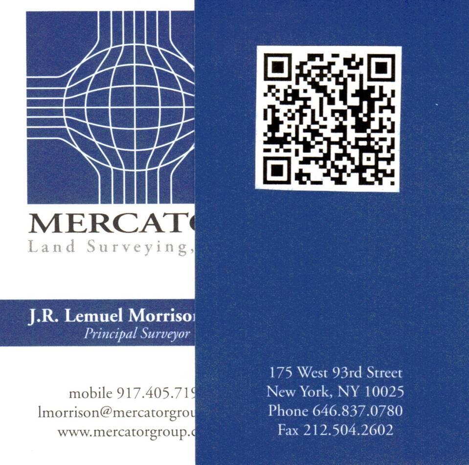Lem Morrison Business Card The Graduate Baruchian