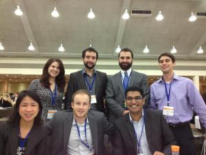 Zicklin MBA's at the 2012 Net Impact Conference in Baltimore.  Photo Courtesy of Anelisa Lauri