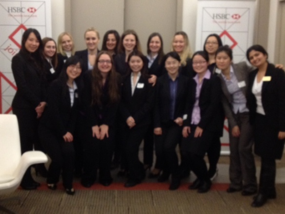 HSBC Welcomes Zicklin Women in Business | The Graduate Baruchian