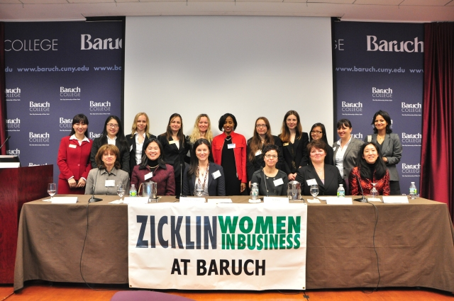 Panelist with ZWIB Executive Board and Volunteers