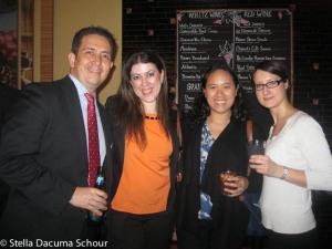 Stella Dacuma Schour AIB Networking Event 03-12-2012 Stix Mediterranean Grill NYC-114