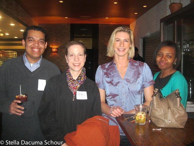 Stella Dacuma Schour AIB Networking Event 03-12-2012 Stix Mediterranean Grill NYC-120